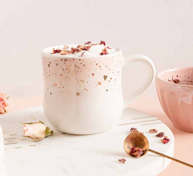 Rose Chai Latte
