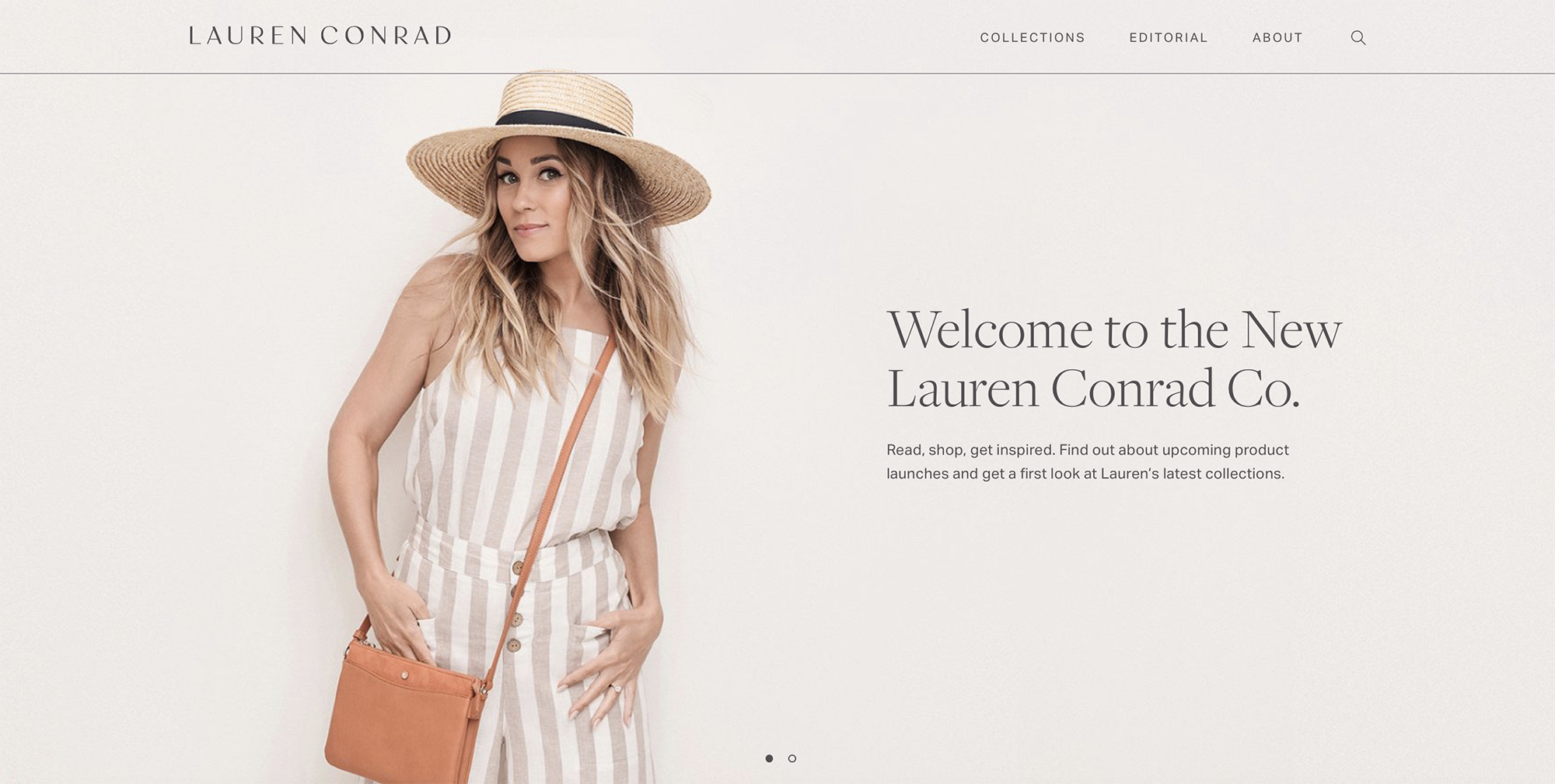 Welcome to the New Lauren Conrad Co. Site
