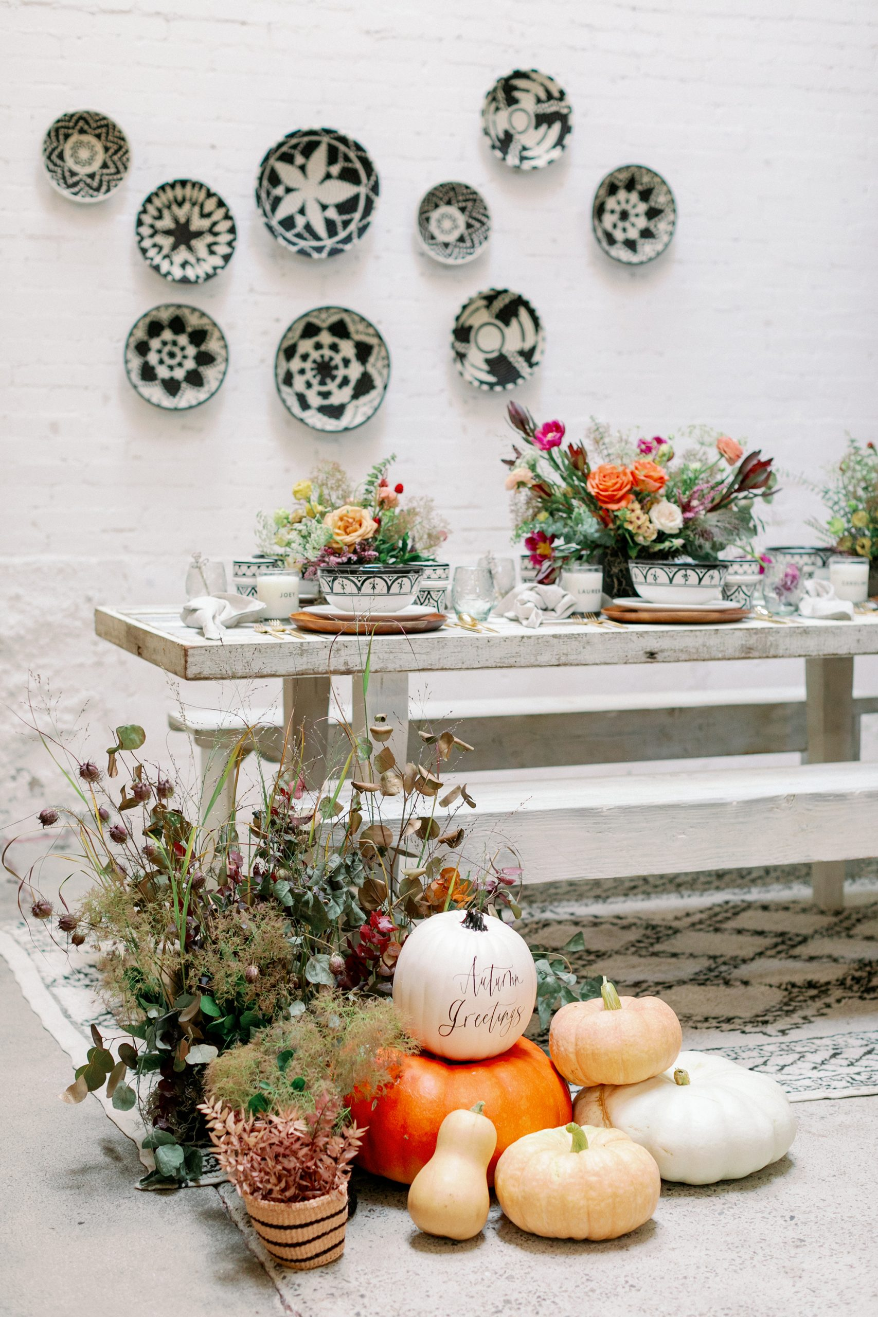 A Fall Tablescape Featuring The Little Market