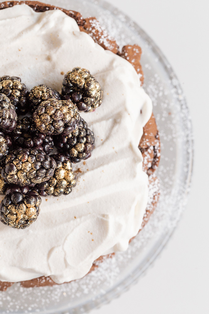 A Flourless Chocolate Cake Perfect for Passover