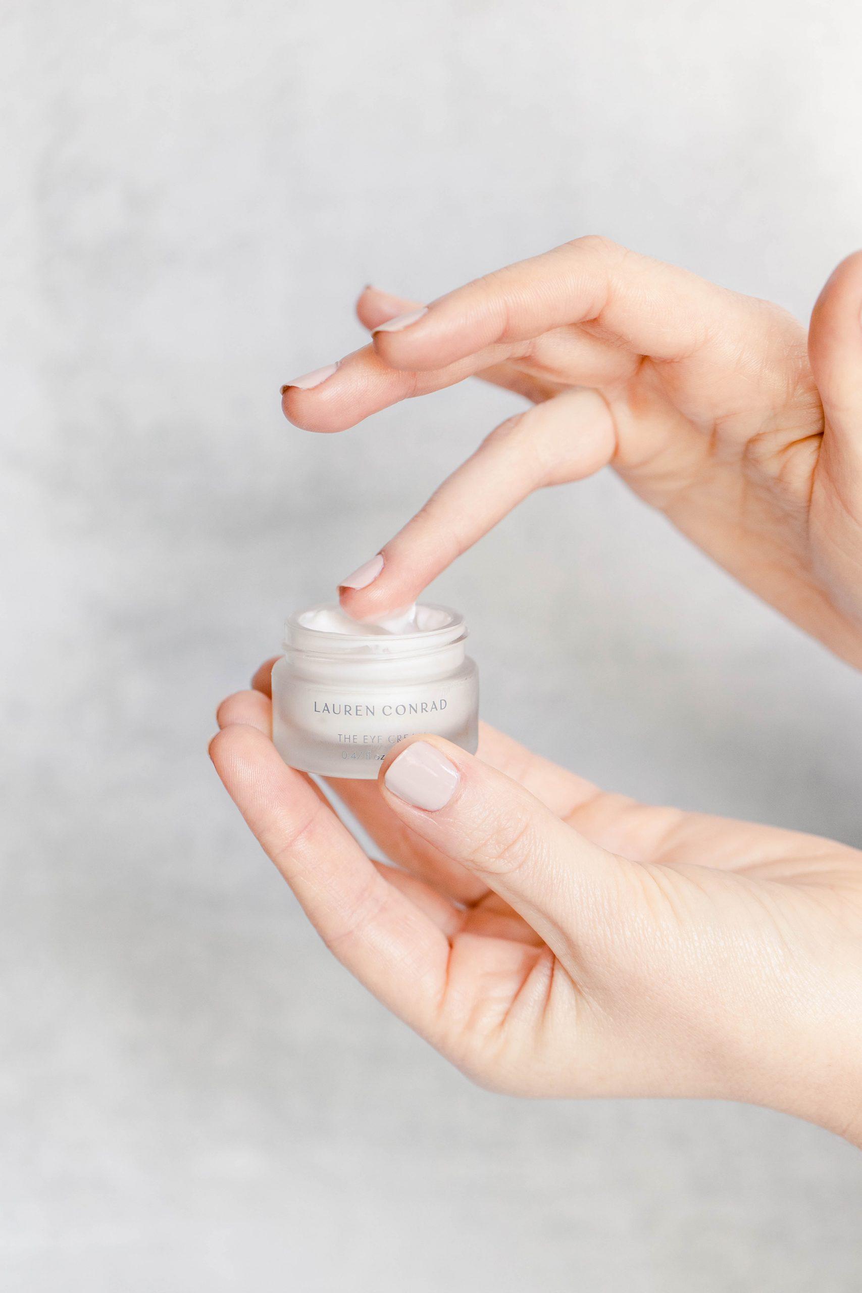 Lauren's Tips for Applying Eye Cream