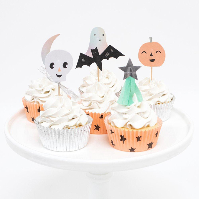 The Prettiest Pastel and Neutral Halloween Décor