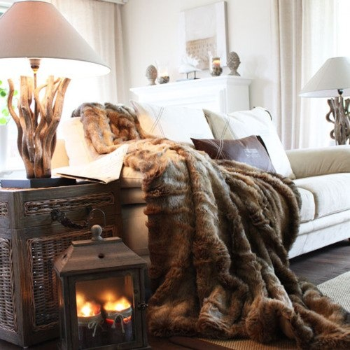 Home makeover 5 ways to cozy up your house for fall for 7 cosy living room looks for autumn