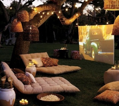 outdoor movie