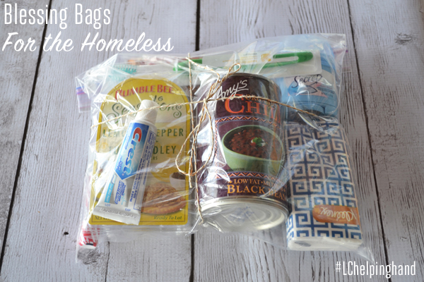 Helping Hand: Blessing Bags for the Homeless - Lauren Conrad