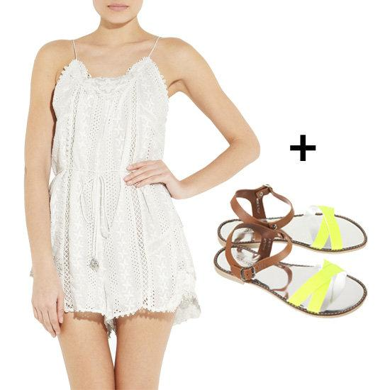 FabSugar: 5 Cover-Up + Sandal Combos