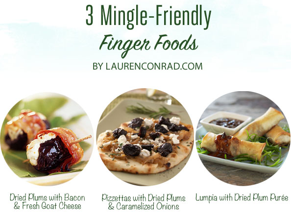 3 Mingle-Friendly Finger Foods