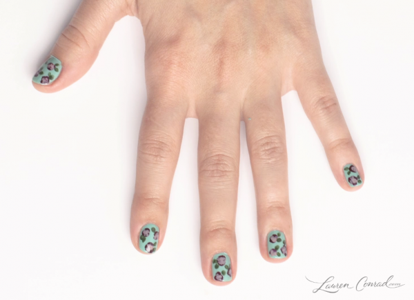 Polished: How to Do a Floral Manicure