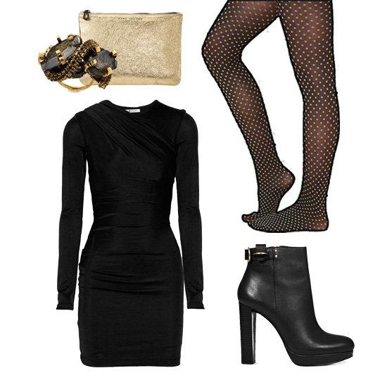 Fabsugar 5 Ways To Wear One Perfect Party Dress Lauren