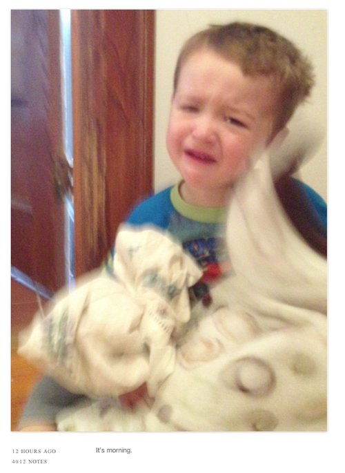 Reasons My Son Is Crying…the cutest thing ever and a guaranteed laugh