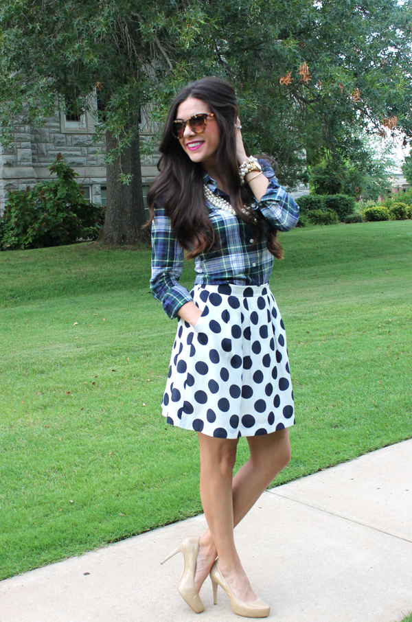 Chic of the Week: Emily's Print Mixing