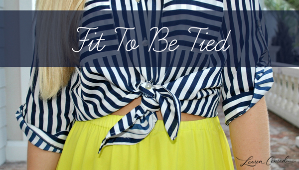 Style Guide: Fit to Be Tied