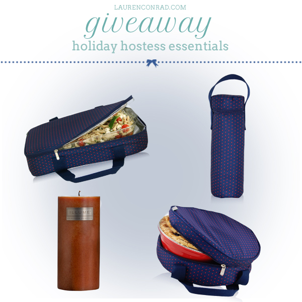 Giveaway: Holiday Hostess Essentials