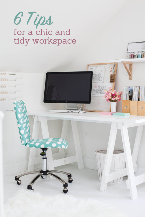 tips for organizing your desk or study area 1