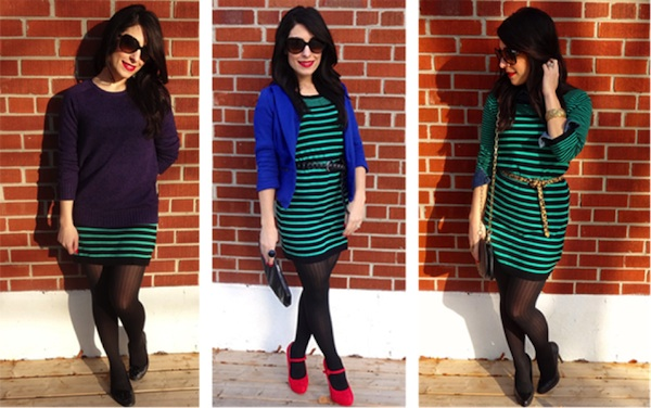 Chic of the Week: Deanne Styles 1 Dress 3 Ways
