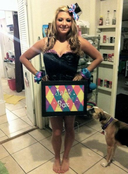 Halloween DIY: Jack-in-the-Box Costume