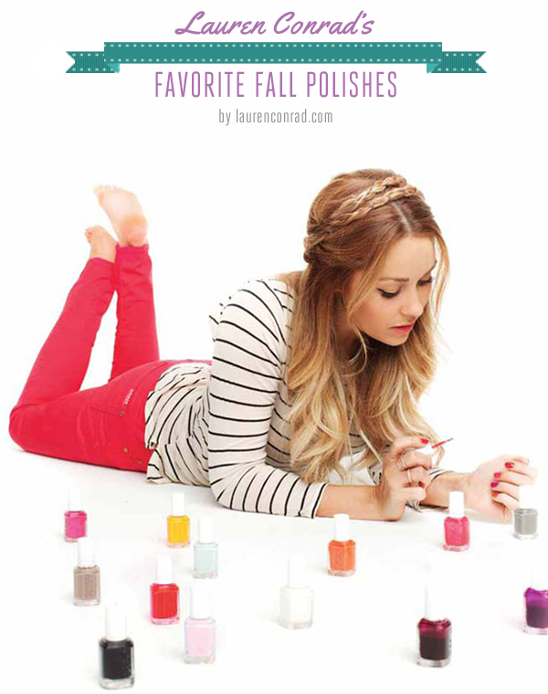 Nail Files: My Favorite Fall Polishes