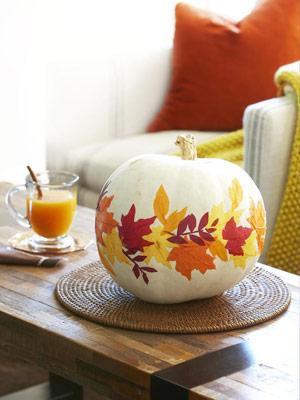 Tuesday Ten: Pretty Pumpkin Ideas
