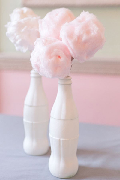 cotton candy bouquets