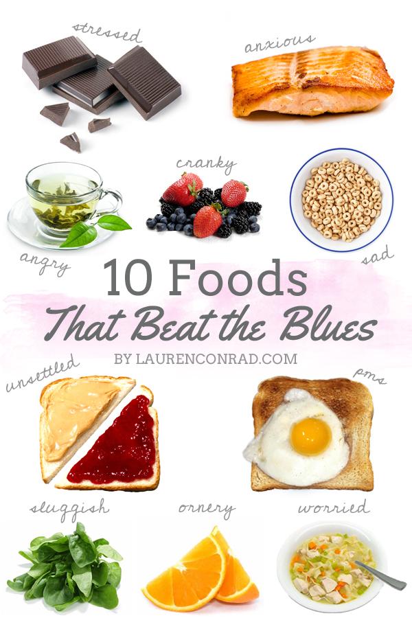 Good Mood Food List