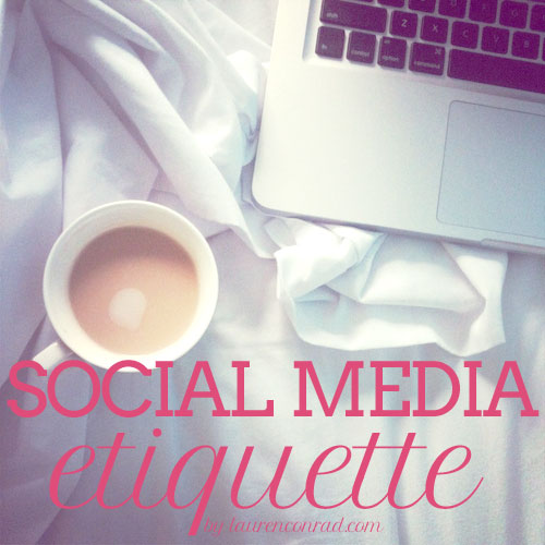 Ladylike Laws: Social Media Etiquette