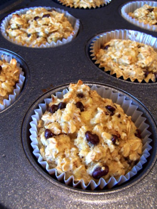Banana Oatmeal Cups