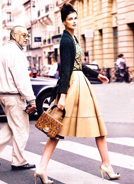 how to wear midi skirts conrad