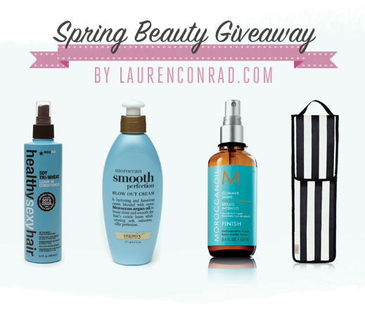 Giveaway: Lauren's Spring Hair Care Picks