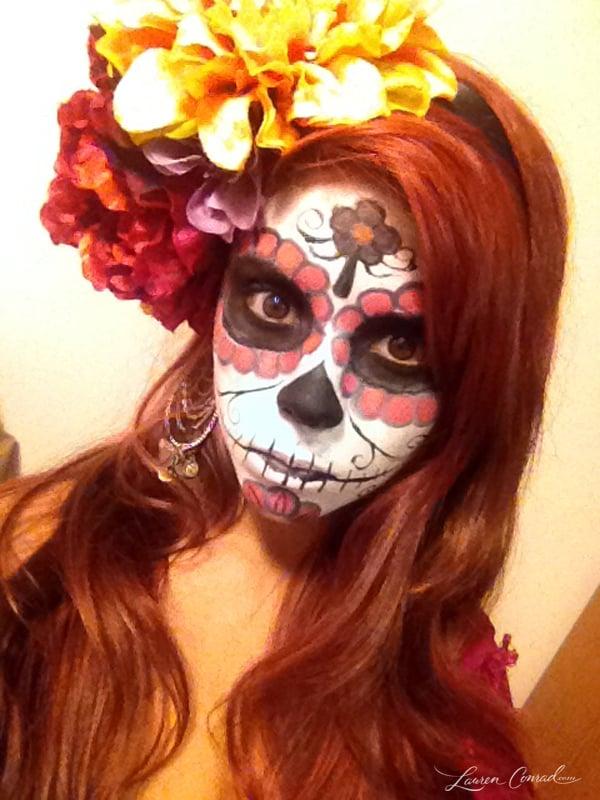 Diy Sugar Skull Halloween Costumes images