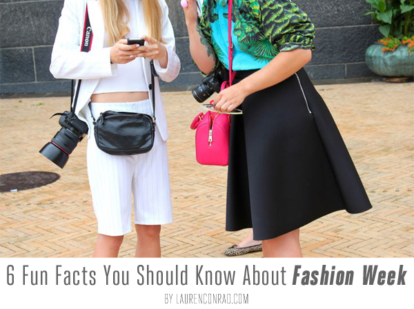 Fashion Week: 6 Fun Facts You Should Know!