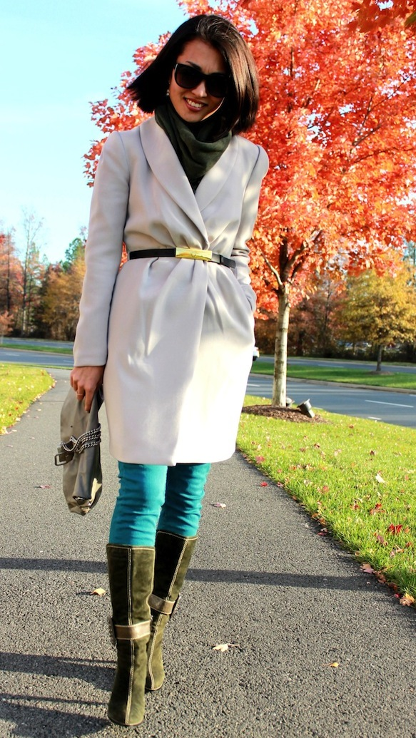 Chic of the Week: Tatyana's Cute Coat