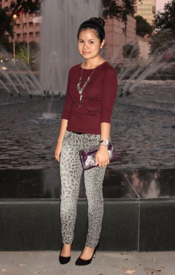 Chic of the Week: Linh's Printed Pants