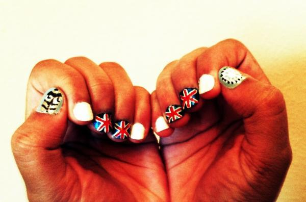Chic of the Week: Poonam's Olympian Mani