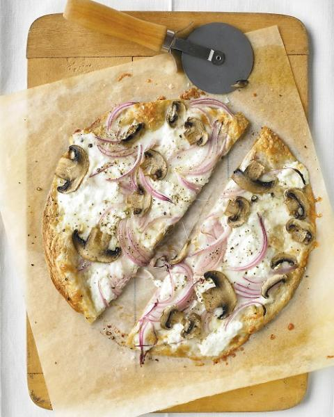 Recipe Box: Skinny Pizza