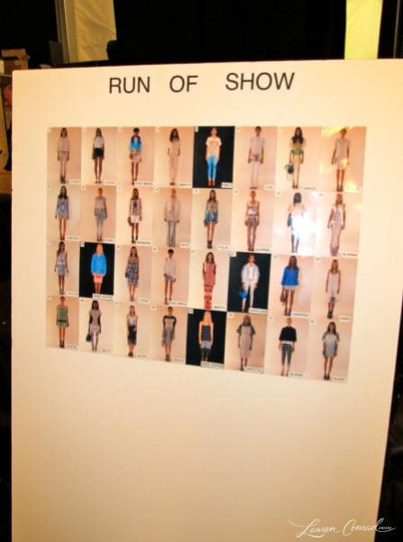 Fashion Week: Backstage at Rebecca Minkoff