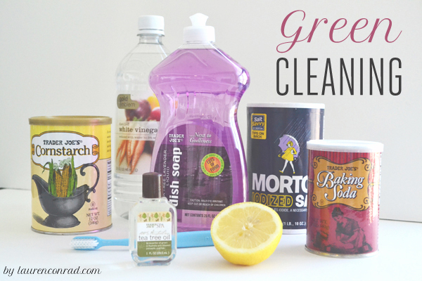 Tuesday Ten: DIY Green Cleaning