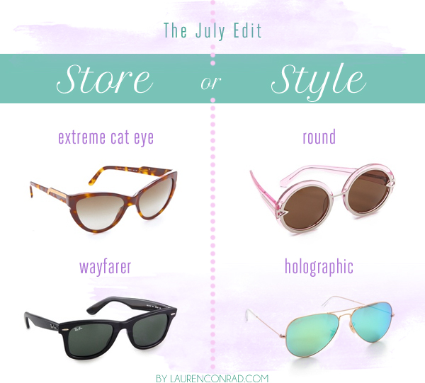 Store or Style: The July Edit