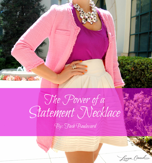 Style Tip: The Power of a Statement Necklace