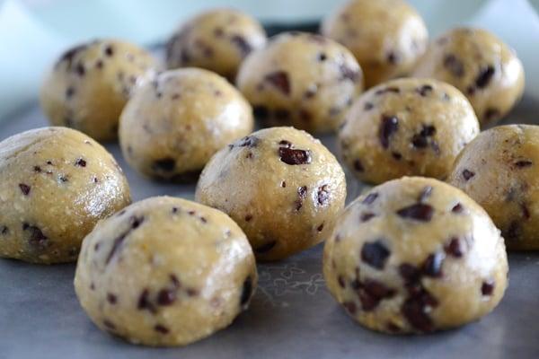 Recipe Box: Healthy No-Bake Cookie Dough Bites