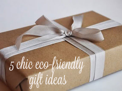 Gift Guide: 5 Chic Eco Ideas