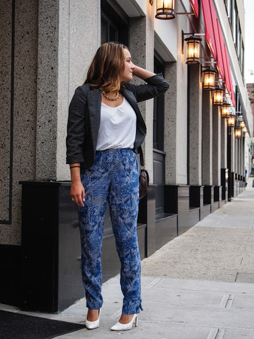Chic of the Week: Tay's Silky Pants